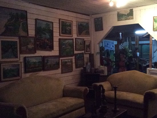 Puerto Cabezas, Nicarágua: Habitación y corredor