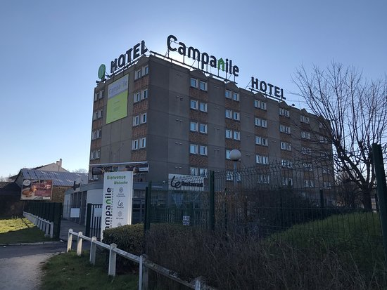 Bobigny, France: the hotel
