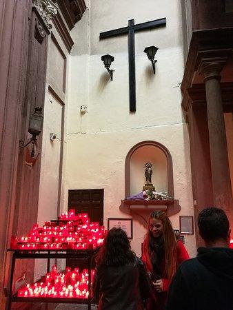 San Judas Tadeo Foto Van Iglesia De San Antonio Abad El Silencio