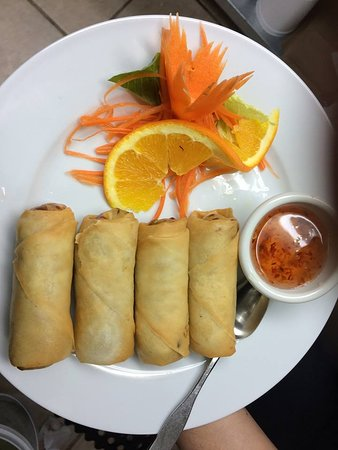 Cranbrook, Canada: Thai Vegetables spring roll