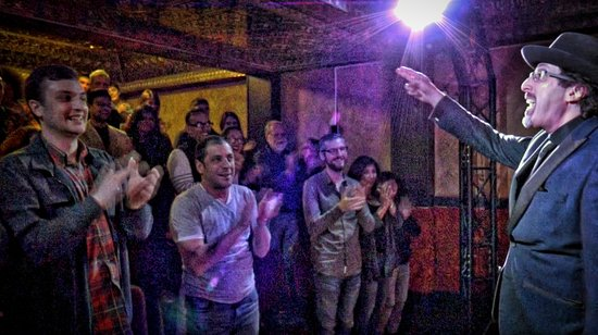 Marrakech Magic Theater: Another happy crowd.