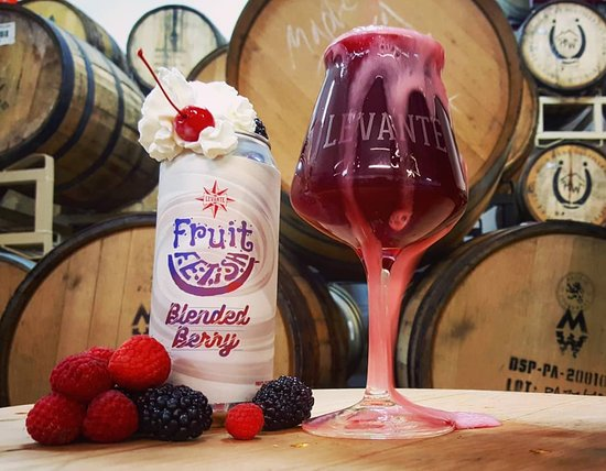 Levante Brewing Company: Lactose fruit infused sour ale