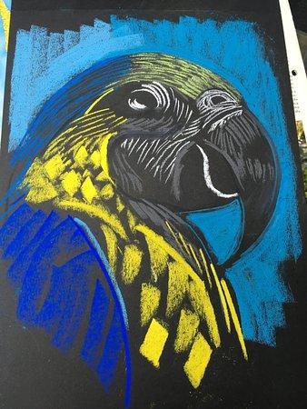 Second Home Peru: VIctor Delfin Art ( Gallery Cafe Victor Delfin)