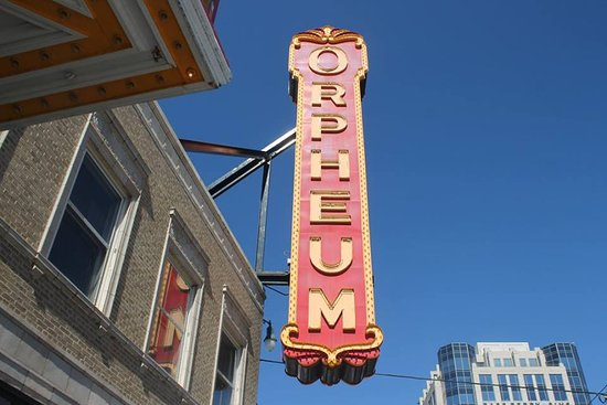 The Orpheum Theatre: outside