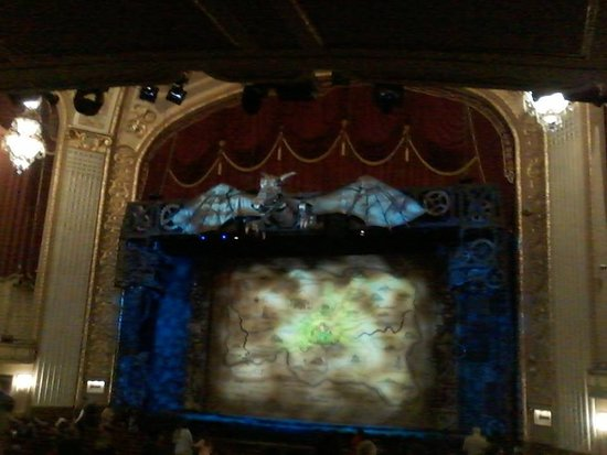 The Orpheum Theatre: Wicked!!!