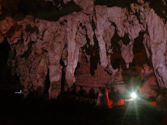 Oxkutzcab, Mexico: Estalactitas gigantes