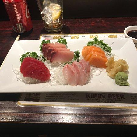 Fishkill, NY: Shashimi regular and a spicy tuna roll.