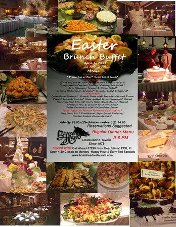 Easter Brunch In Panama City Beach Fl