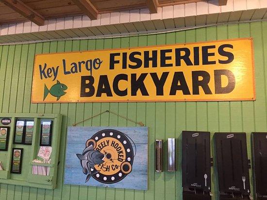 Key Largo Fisheries Backyard