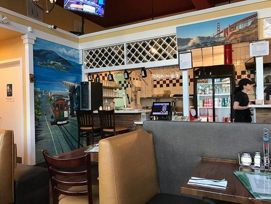 North Beach Pizza Inside The Pizzeria