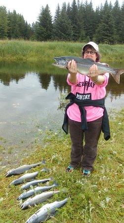 Gustavus, AK: Pink Salmon