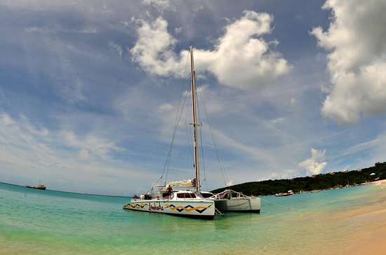 Anguilla Catamaran Sail Day Trip from...