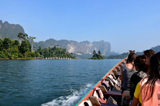 Cheow Lan Lake in Khao Sok National...