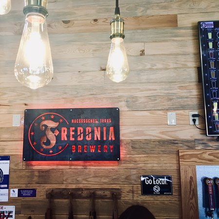 Nacogdoches, TX: Inside the brewery