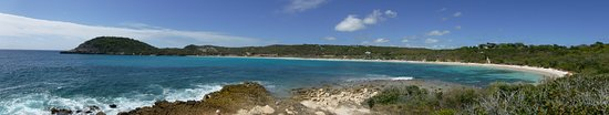 Saint Philip Parish, Antigua: Panorama from the hill