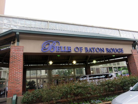 Belle of Baton Rouge Casino & Hotel: covered entrance