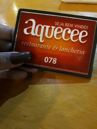 Aquecee Restaurante E Lancheria: Restaurante Aquecee