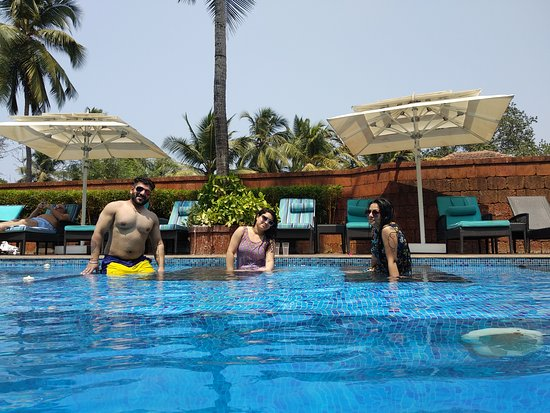 Anjuna, Indien: Pool area
