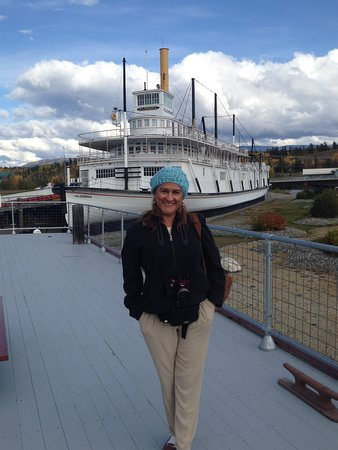 S.S. Klondike: Visiting from the other side of the world and loving it