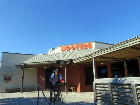 Front Of Entrance To Hooters