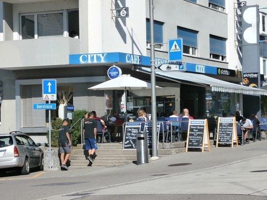 Wallisellen, Switzerland: Exterior view and entrance
