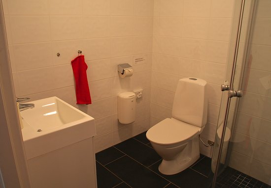 Check Inn Bed & Breakfast: Bathroom with shower