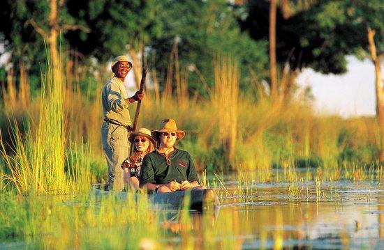 Виндхук, Намибия: Okavango Delta and mekoro excursion