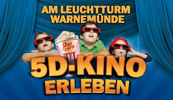 Rostock, ألمانيا: 5D Kino für Groß und Klein!