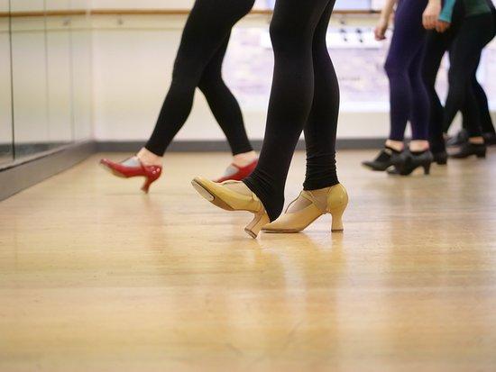 Ballet dancers at Pineapple Dance Studios  All classes are drop-in