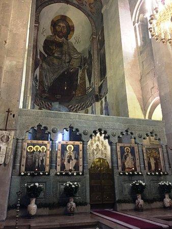Svetitskhoveli Cathedral: Church Interiors
