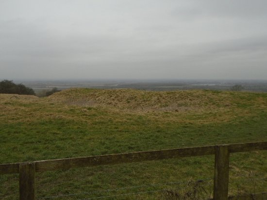 Blunsdon, UK: Iron Age Hill Fort.