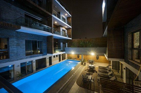 Ocean park appart hotel casablanca marokko foto 39 s for Appart hotel 95