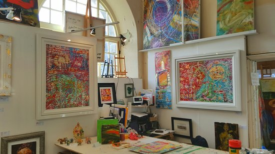 Martin Bush Fine Art Gallery and Studio
