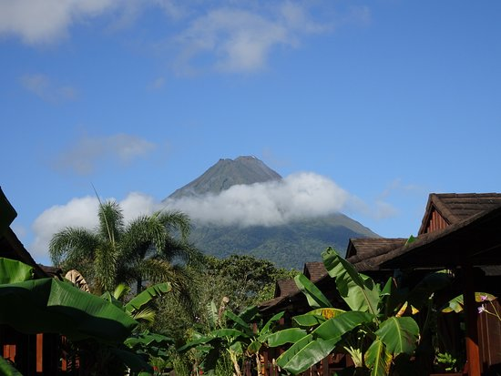 Hotel Arenal Montechiari: Toujours le volcan