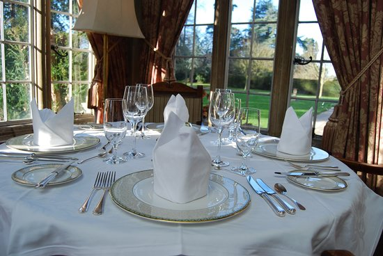 The Oak Room At Tylney Hall Rotherwick Restaurant