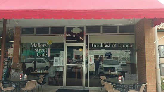 Mallery Street Cafe: From the street