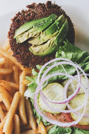 Grandville, MI: Ana's Vegan Impossible Burger