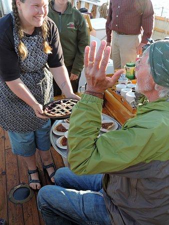Schooner American Eagle: Desserts baked aboard