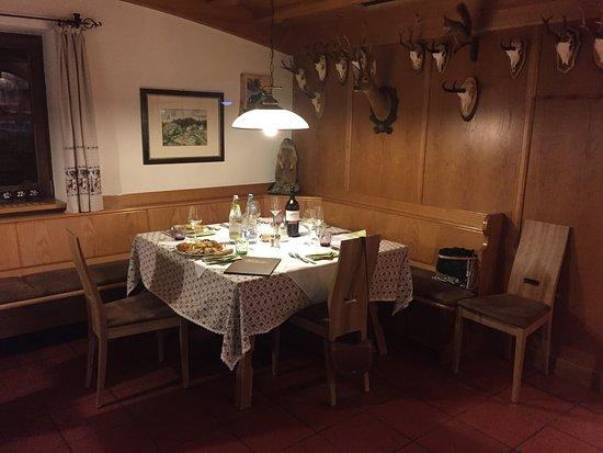 Renon (Ritten), Italien: tavolo