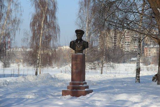 Памятник В. Ф. Маргелову