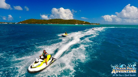 Ocean Pro Adventure Jet Ski Tour and Boat Rental