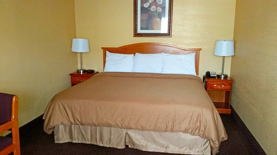 Lawrenceburg, TN: One King Bed