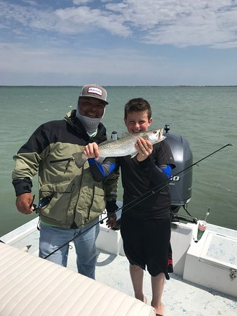 Capt david leal 39 s fishing guide south padre island tx for Capt dave fishing