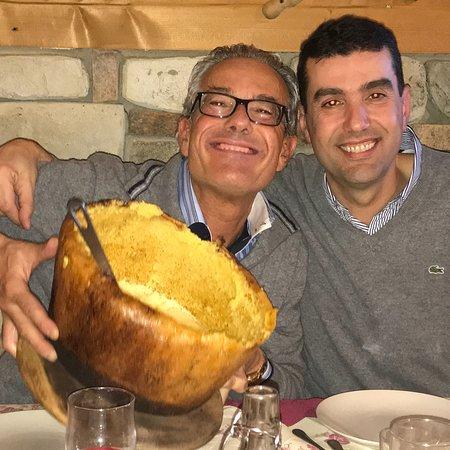 Camerata Cornello, Italy: TOP POLENTA. Fabio Cremona ( il presidente)