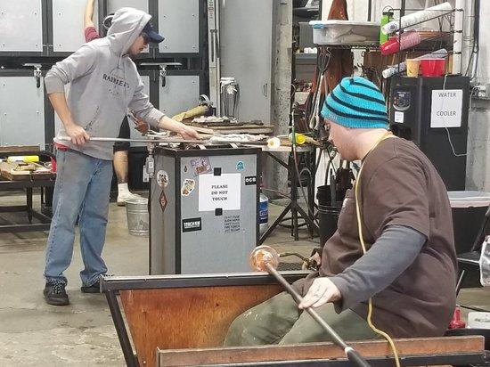 Tacoma Glassblowing Studio: 20180313_155859_large.jpg