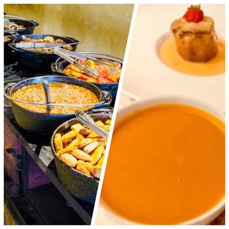 Hilton Cape Town City Centre: You must try their Carrot & Ginger Soup and Malva Pudding Dessert!