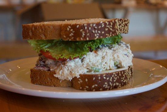 Kennard, TX: Chicken Salad Sandwich