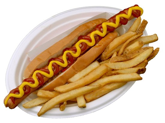 Epping, New Hampshire: Footlong hotdogs! 