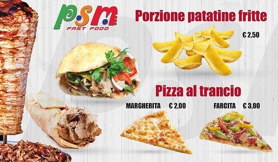 Porto Santa Margherita, Italie : P.S.M fastfood
