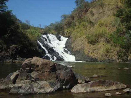 Linda cachoeira, cartão postal da cidade de Votorantim